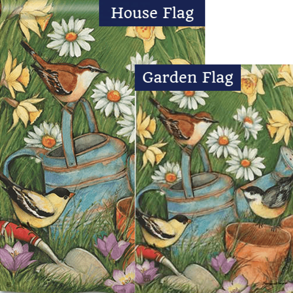 Garden Visit Flags Set (2 Pieces)