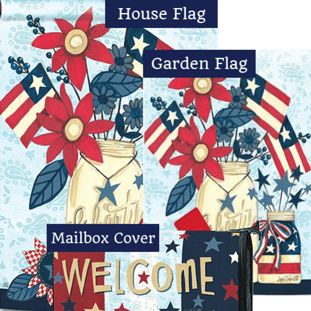 Liberty Flags Yard Makeover Set (3 Pieces)
