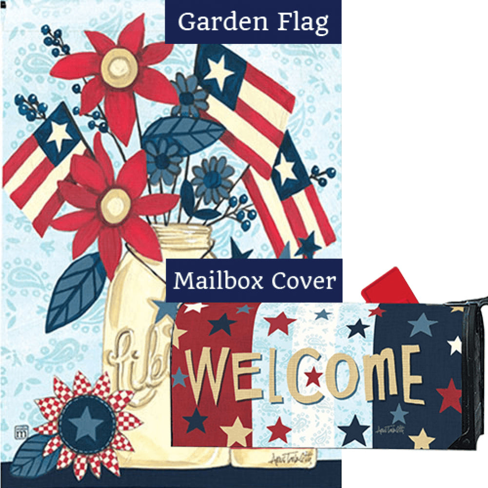 Liberty Flags Flag Mailwrap Set (2 Pieces)