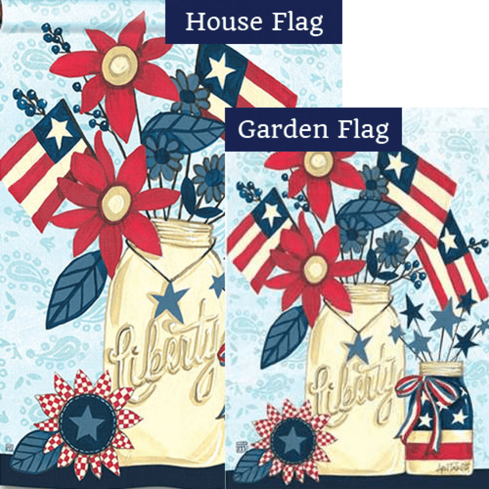 Liberty Flags Flags Set (2 Pieces)