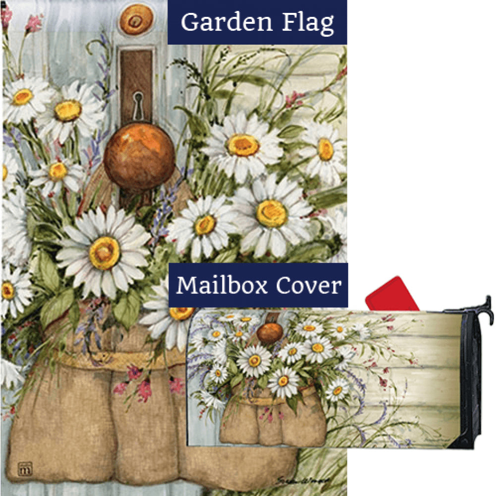 Fresh Picked Daisies Flag Mailwrap Set (2 Pieces)