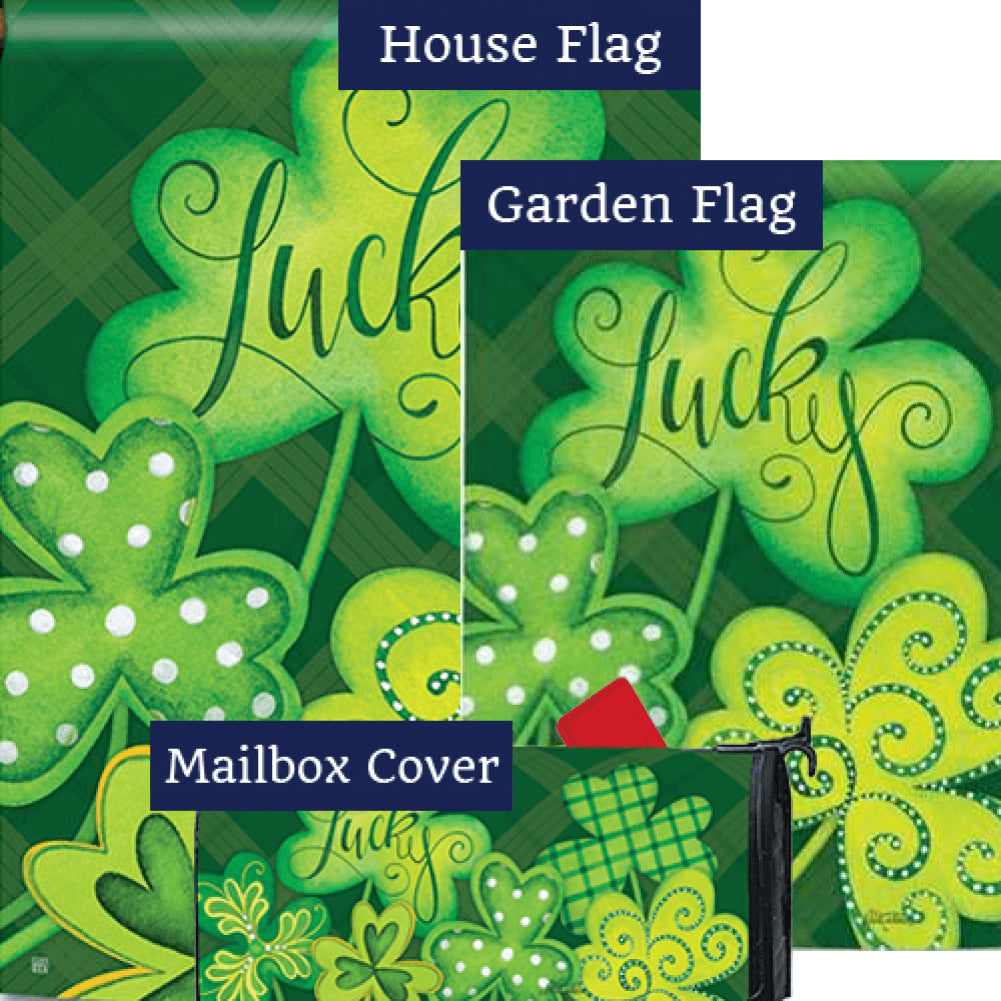 Lucky Shamrocks Yard Makeover Set (3 Pieces)