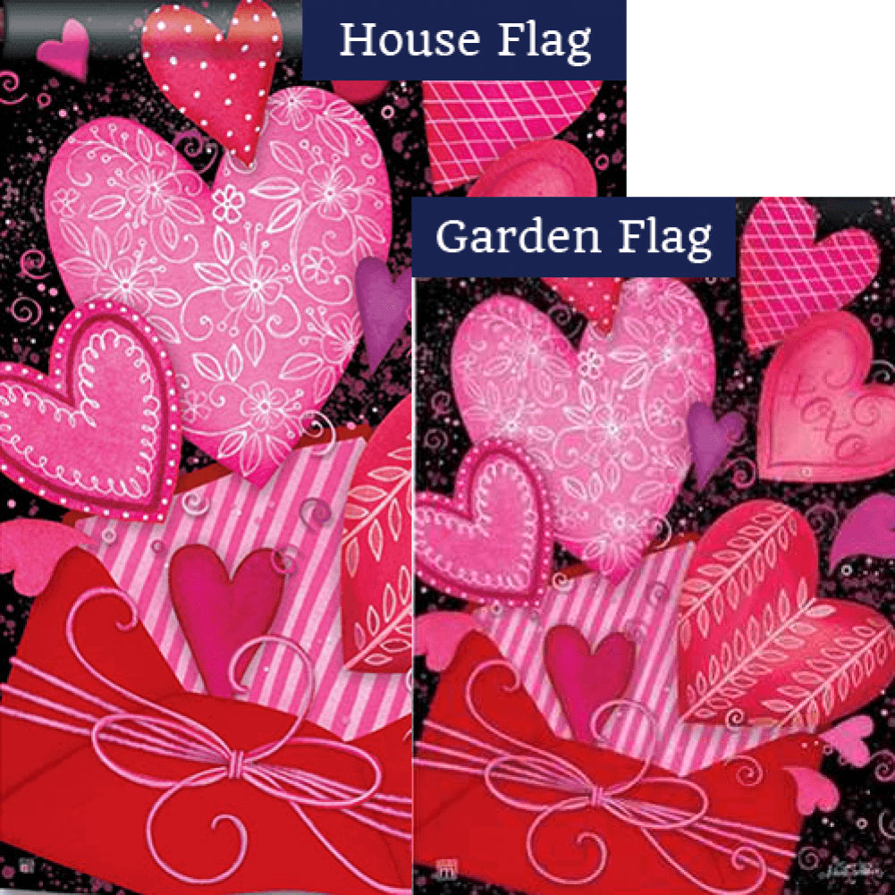 Sending Love Flags Set (2 Pieces)