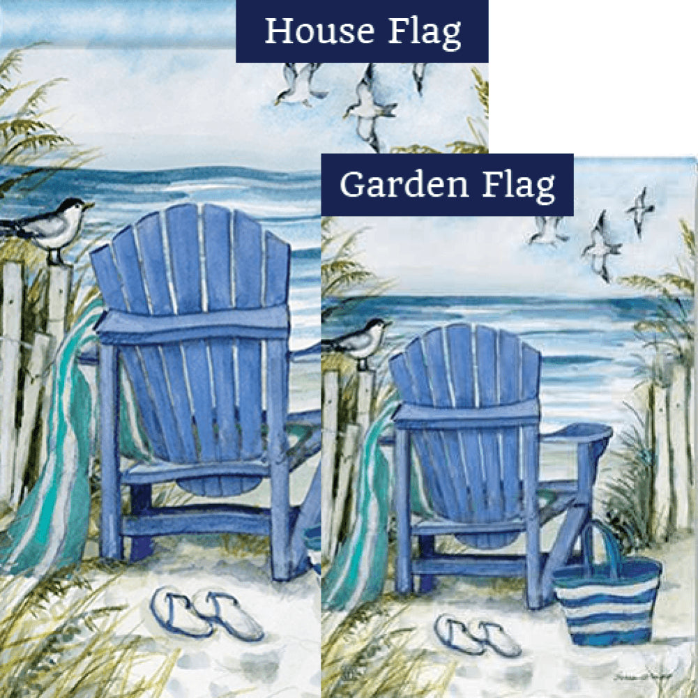 Ocean View Flags Set (2 Pieces)