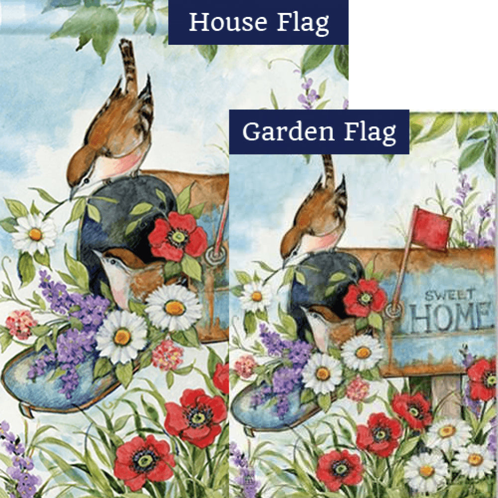 Sweet Home Flags Set (2 Pieces)