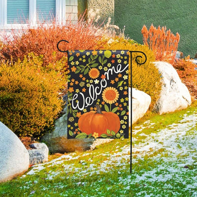 Autumn Meadow Garden Flag