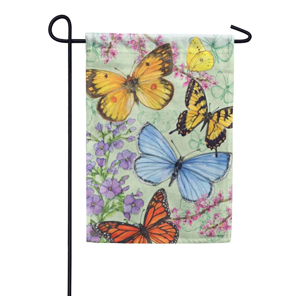 Butterfly Dance Garden Flag