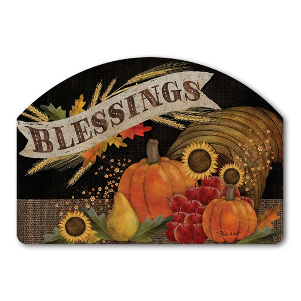 Cornucopia Blessings Yard DeSign