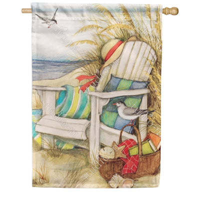 Time to Relax Double Sided House Flag