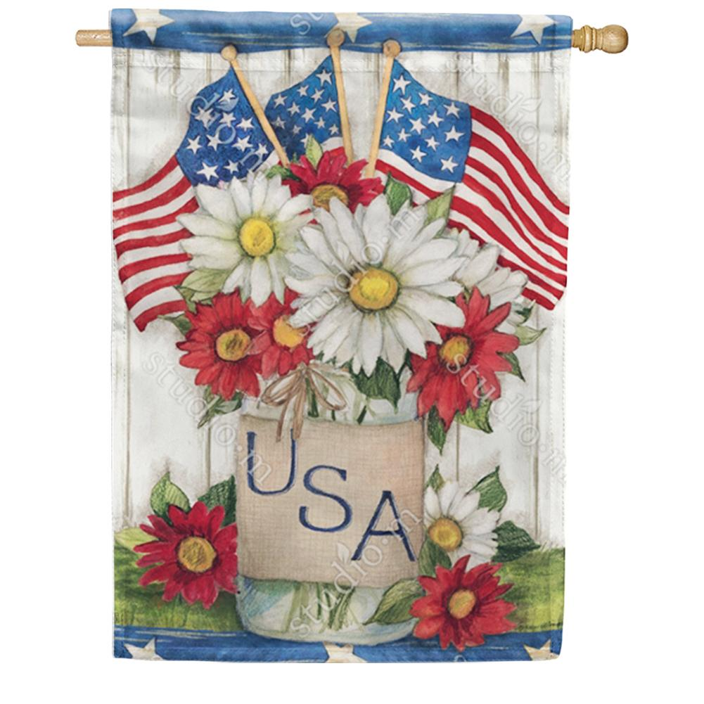 USA Mason Jar House Flag