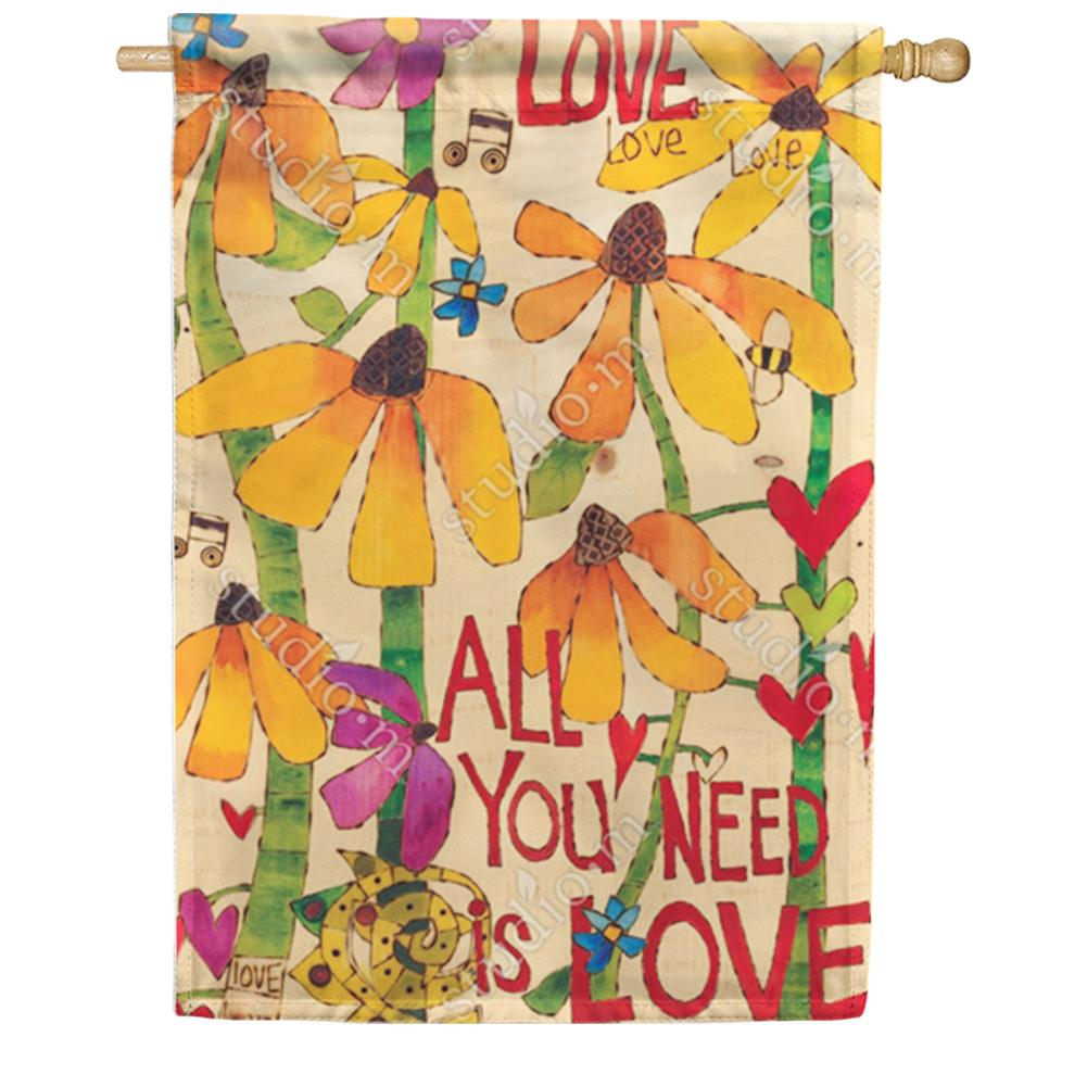 All You Need Is Love House Flag
