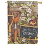 Garden Shed House Flag