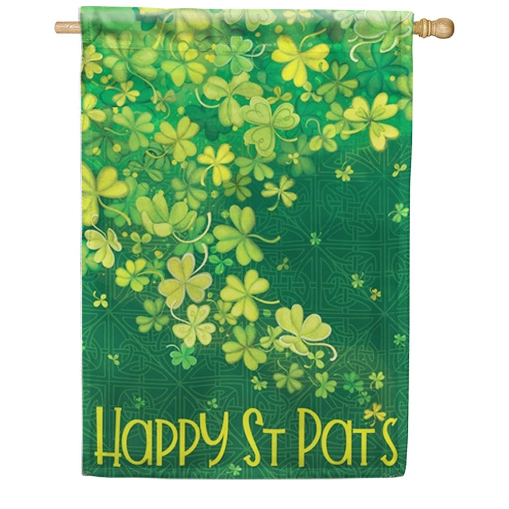 Shamrock Shower House Flag