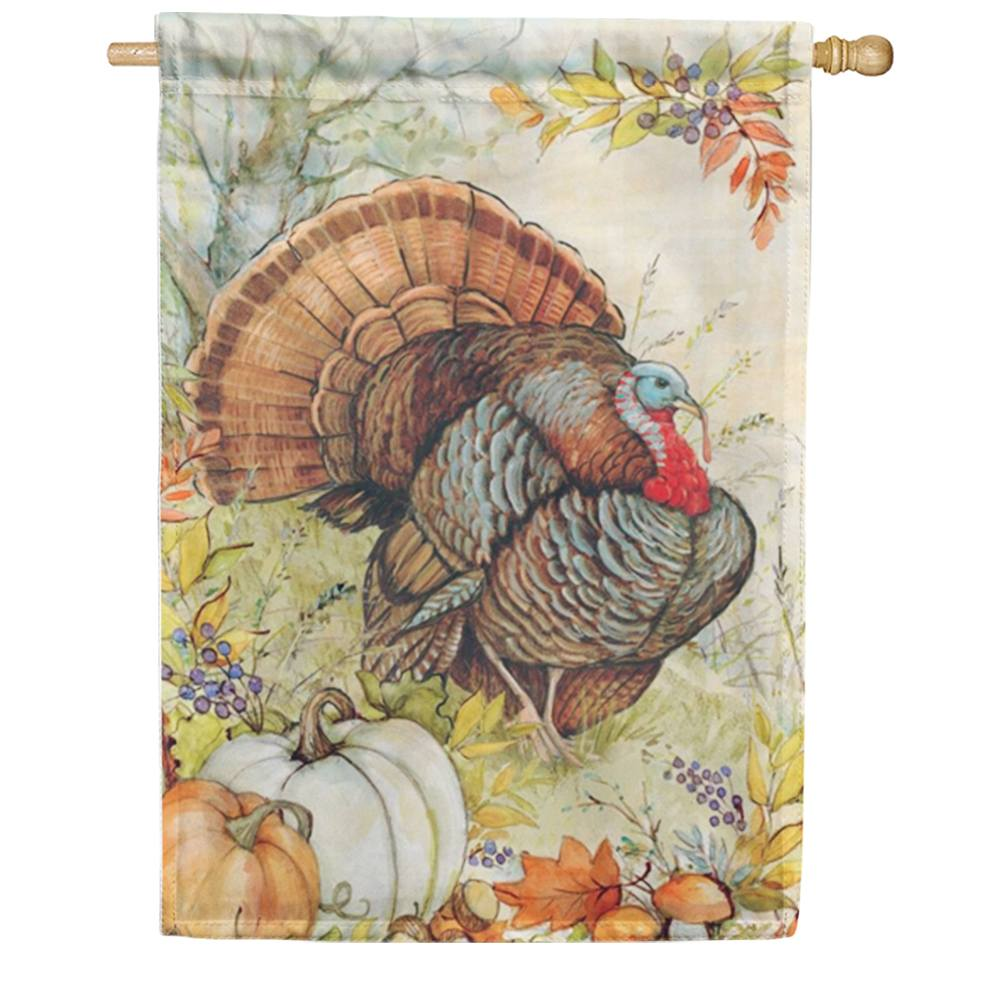 Tom Turkey House Flag