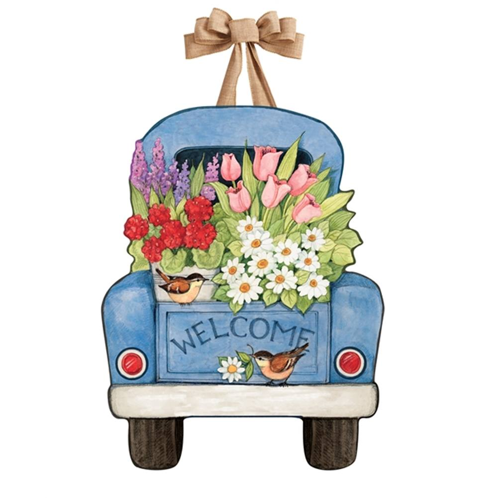 Flower Pickin' Time Door Decor