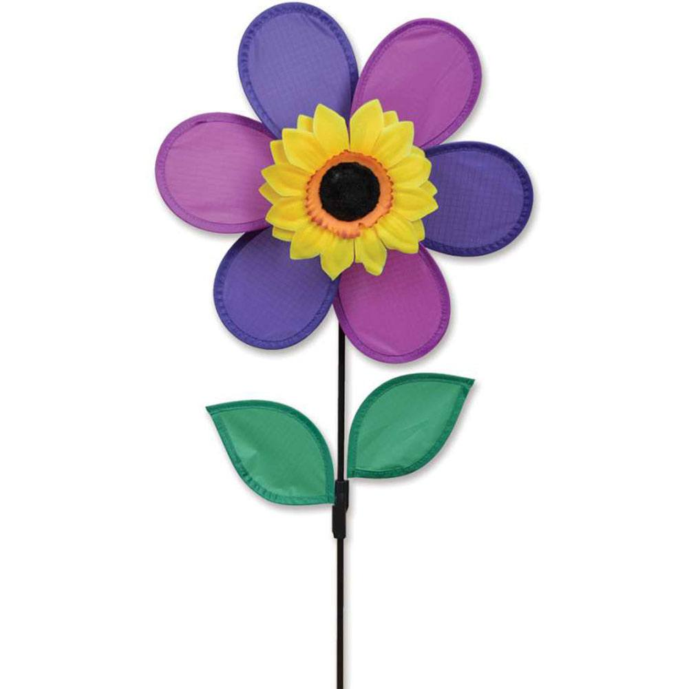 Purple Sunflower Flower Spinner