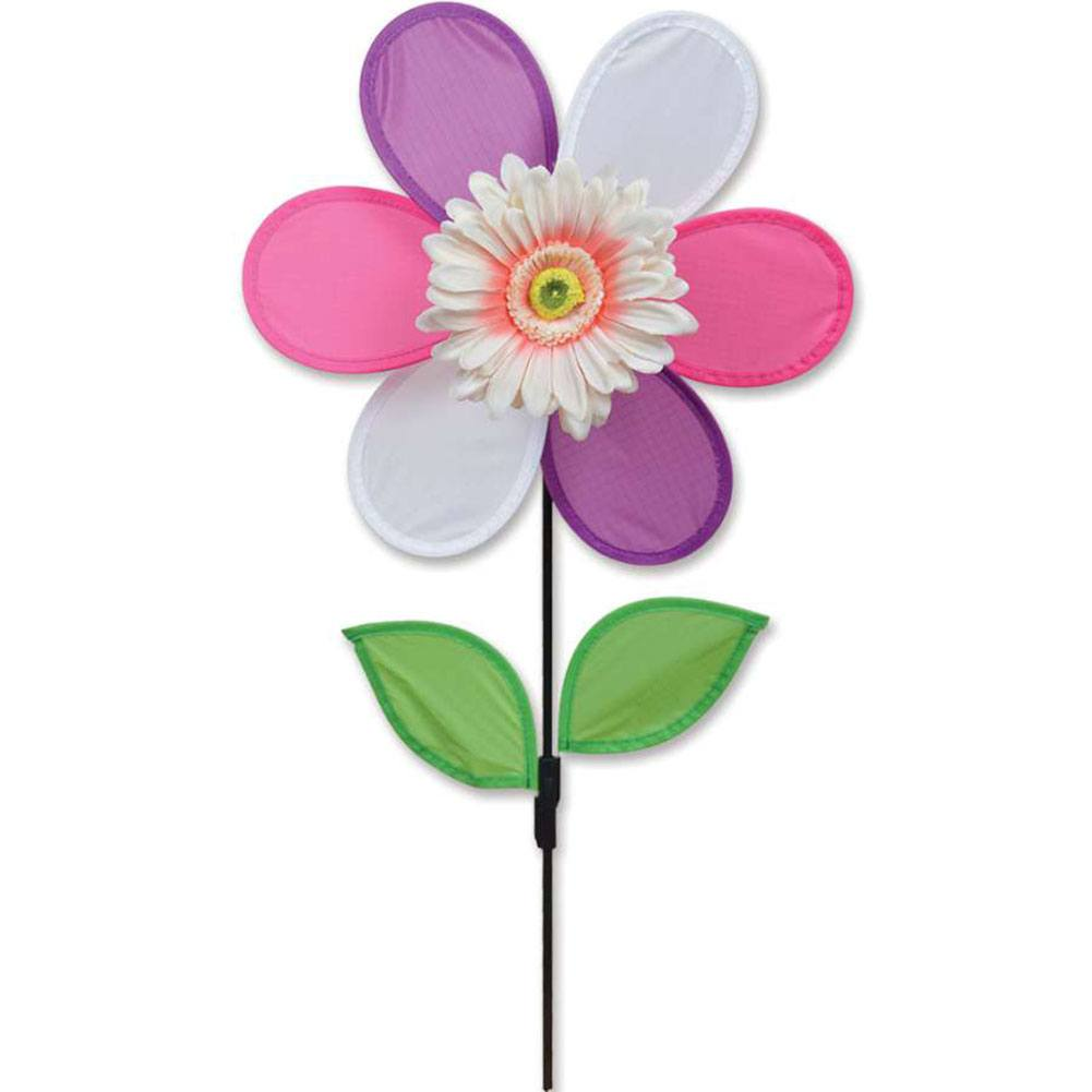Pink Daisy Flower Spinner