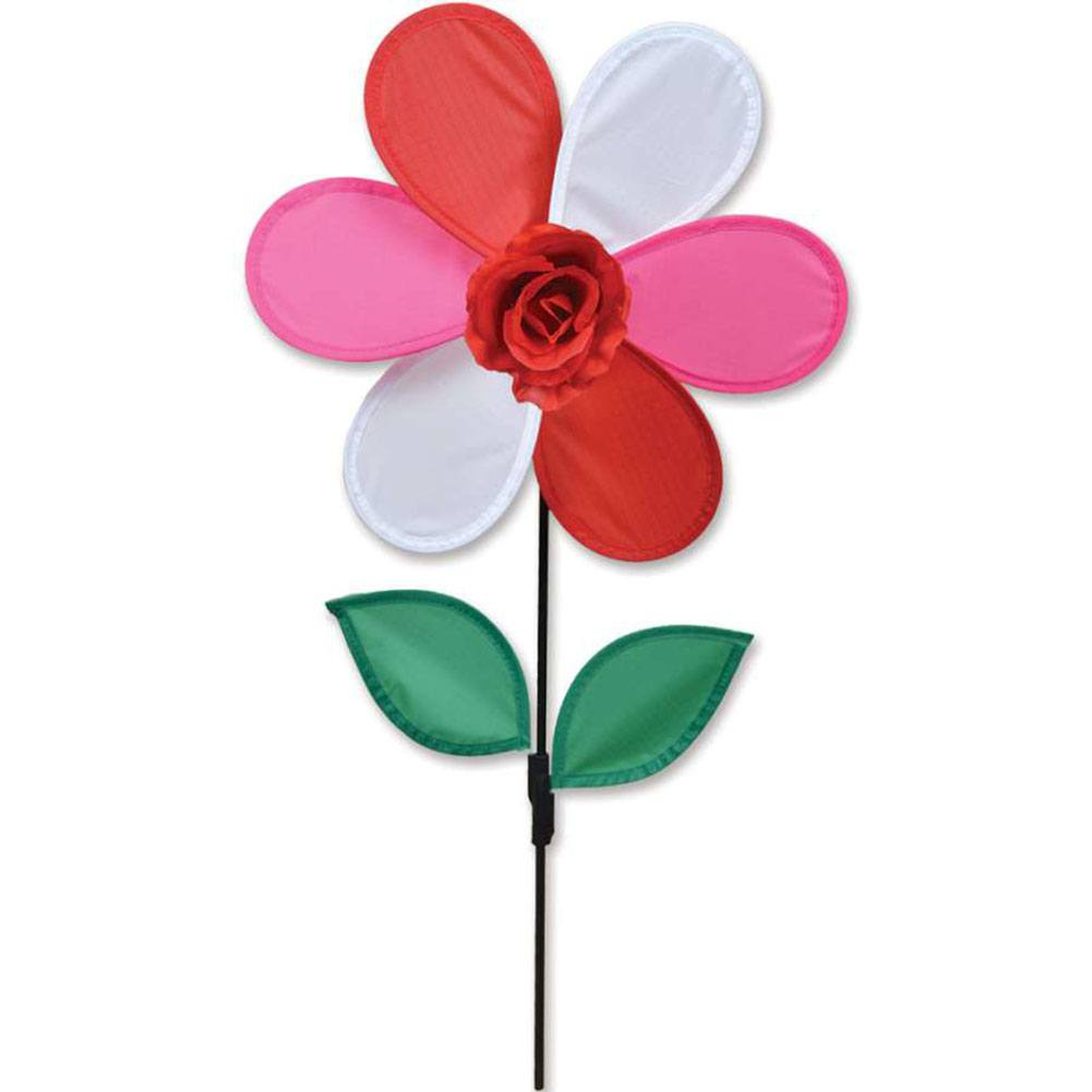 Red Rose Flower Spinner