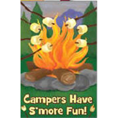 S'More Fun Brilliance Garden Flag