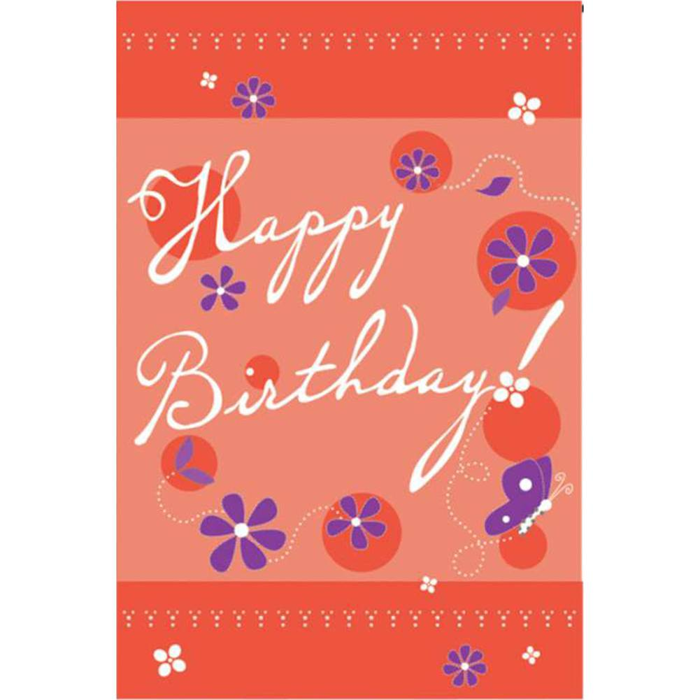 Birthday Blast Brilliance Garden Flag