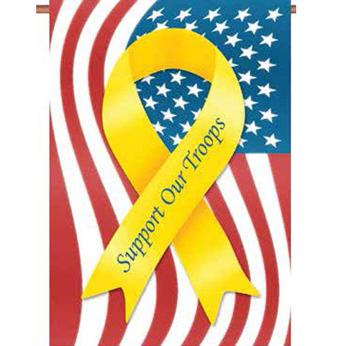 Support Troops PremierSoft Garden Flag