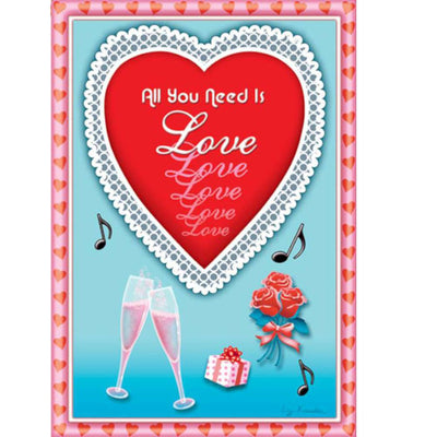All You Need is Love Brilliance House Flag