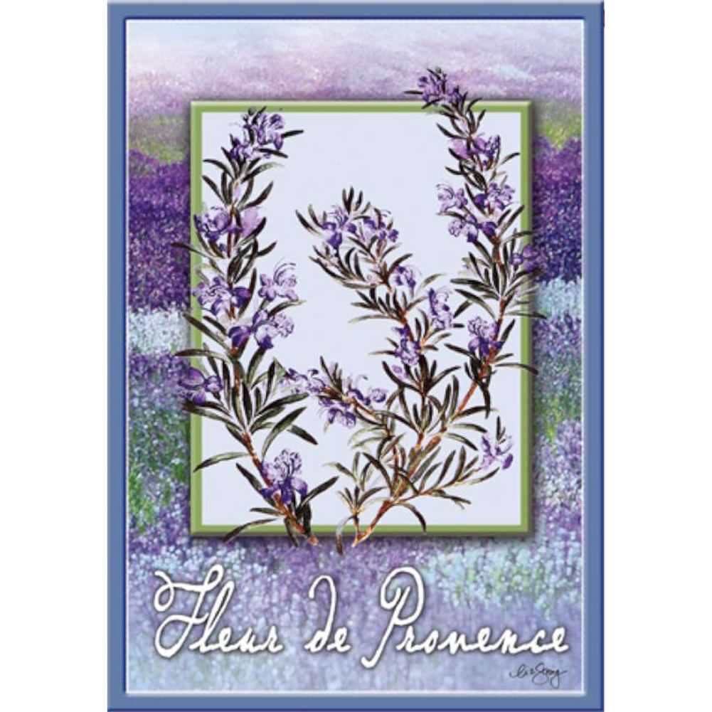 Fluer De Provence Brilliance House Flag