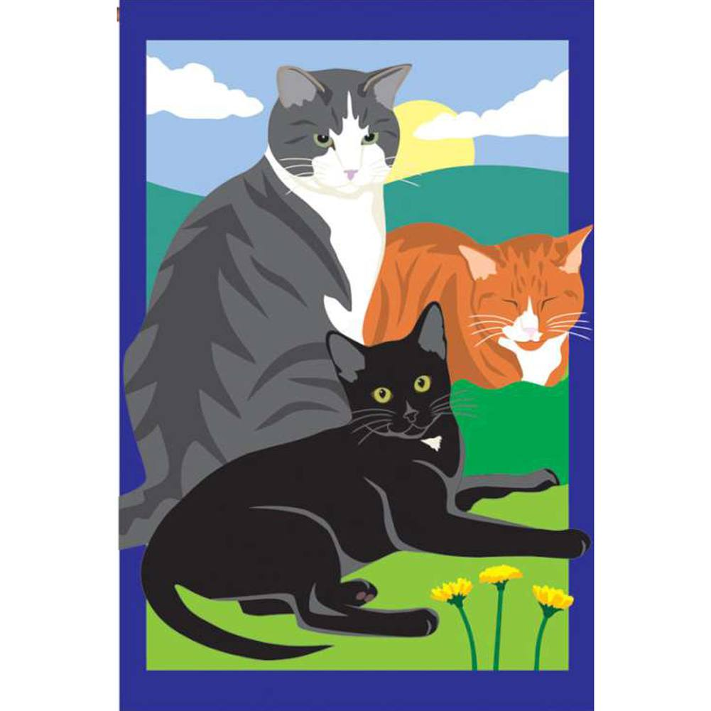 Kitty, Kitty, Kitty Prestige Estate Flag