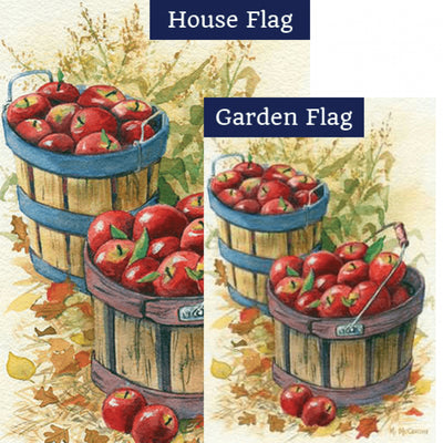 Apple Baskets Illuminated Flags Set (2 Pieces)