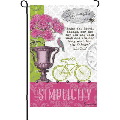 Simple Pleasures PremierSoft Double Sided Garden Flag