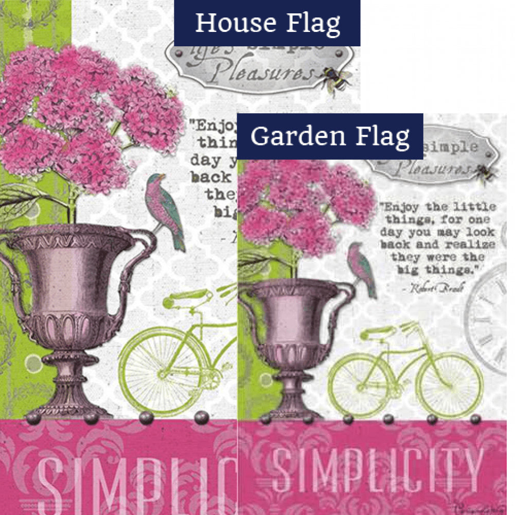 Simple Pleasures PremierSoft Double Sided Flags Set (2 Pieces)