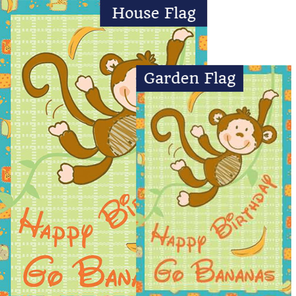 Go Bananas PremierSoft Double Sided Flags Set (2 Pieces)
