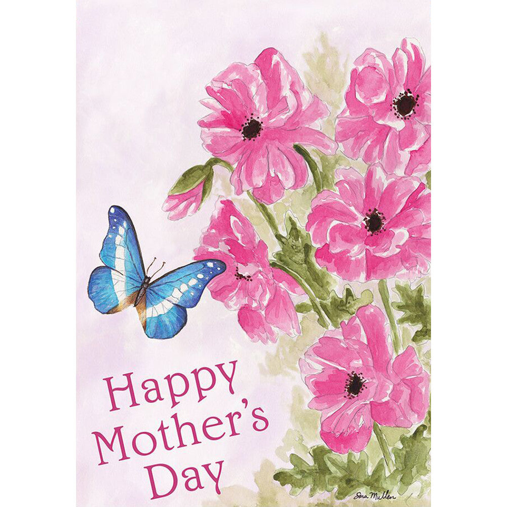 Mother's Day Bouquet PremierSoft Double Sided Garden Flag