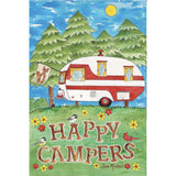 Camping Fun PremierSoft Double Sided Garden Flag
