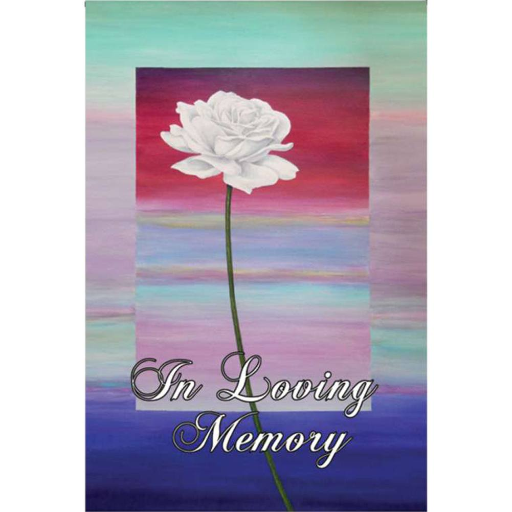 Rememberence PremierSoft Double Sided Garden Flag