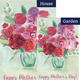 Happy Mother's Day PremierSoft Double Sided Flags Set (2 Pieces)