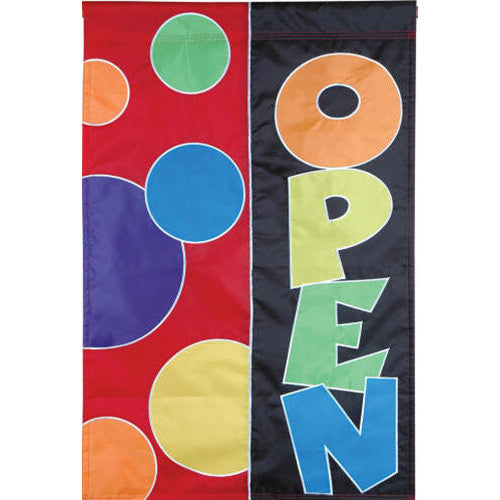 Open Double Appliqued Premier House Flag