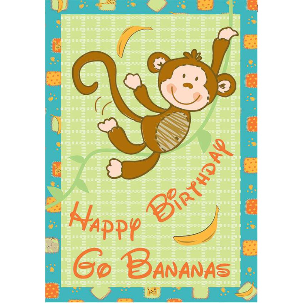 Go Bananas PremierSoft Double Sided House Flag