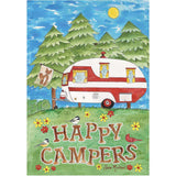 Camping Fun PremierSoft Double Sided House Flag