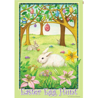 Easter Egg Hunt PremierSoft Double Sided House Flag