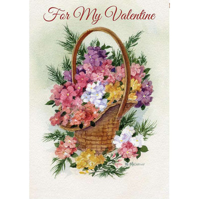 For My Valentine PremierSoft Double Sided House Flag