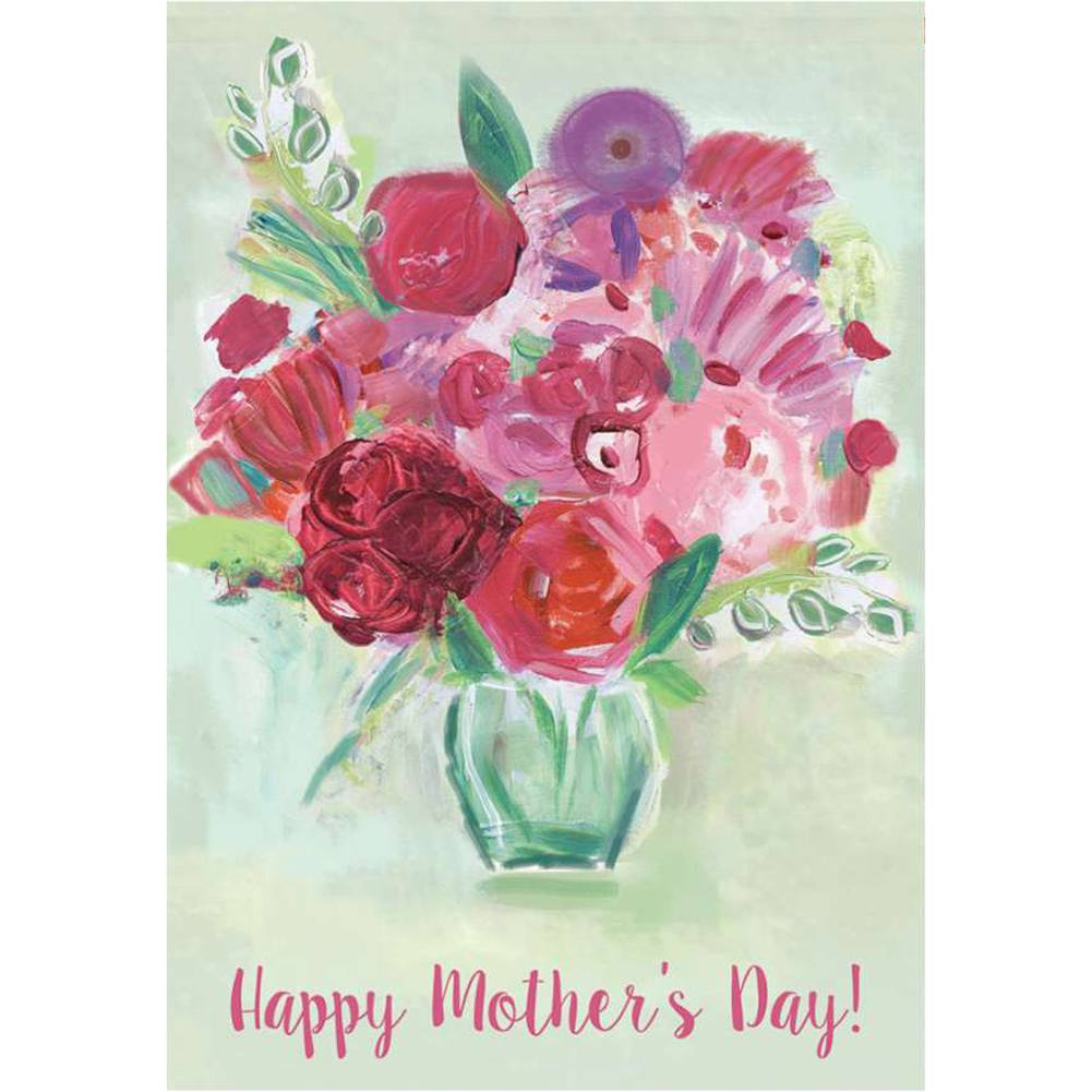 Happy Mother's Day PremierSoft Double Sided House Flag