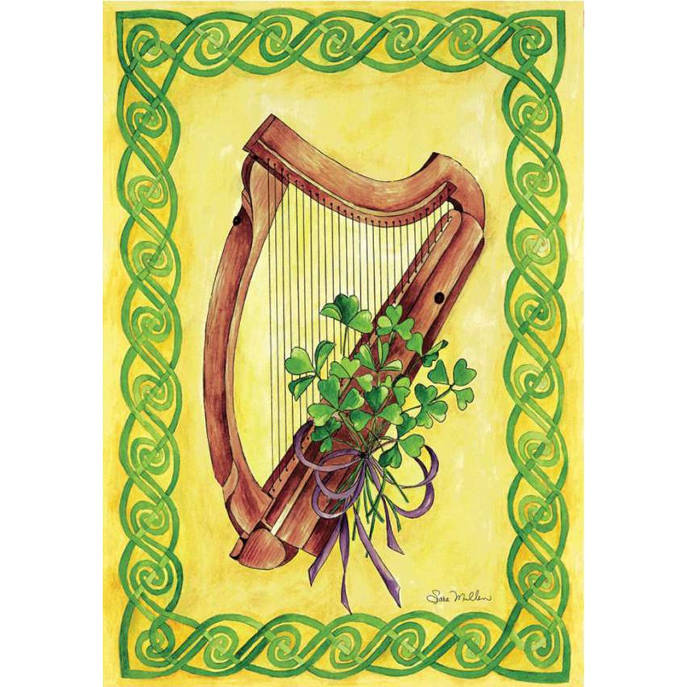 Celtic Harmony Illuminated House Flag