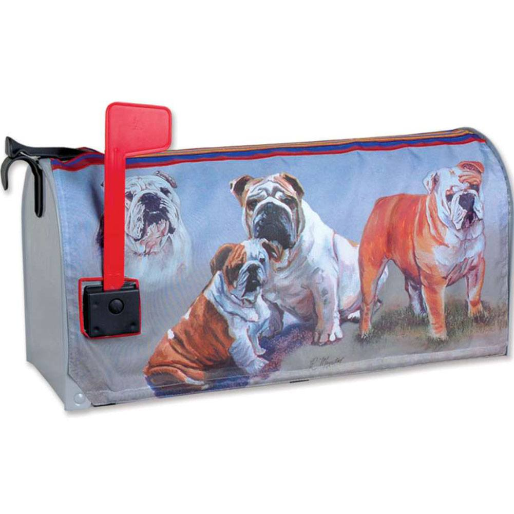 Bulldogs Mailbox Cover