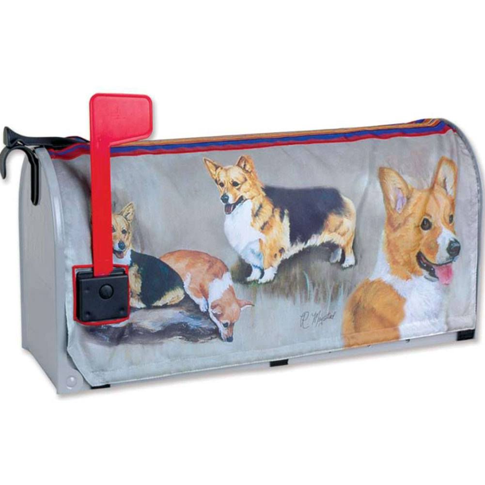 Welsh Corgi Mailbox Cover