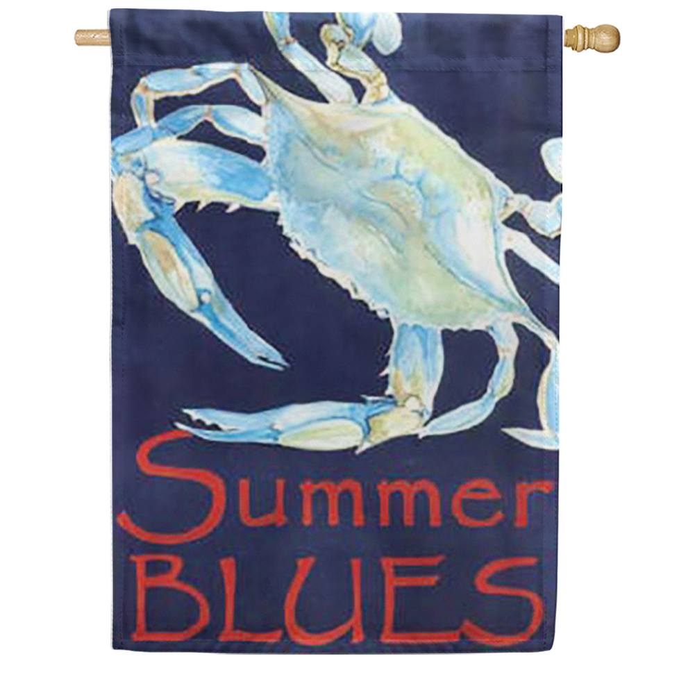 Summer Blues House Flag