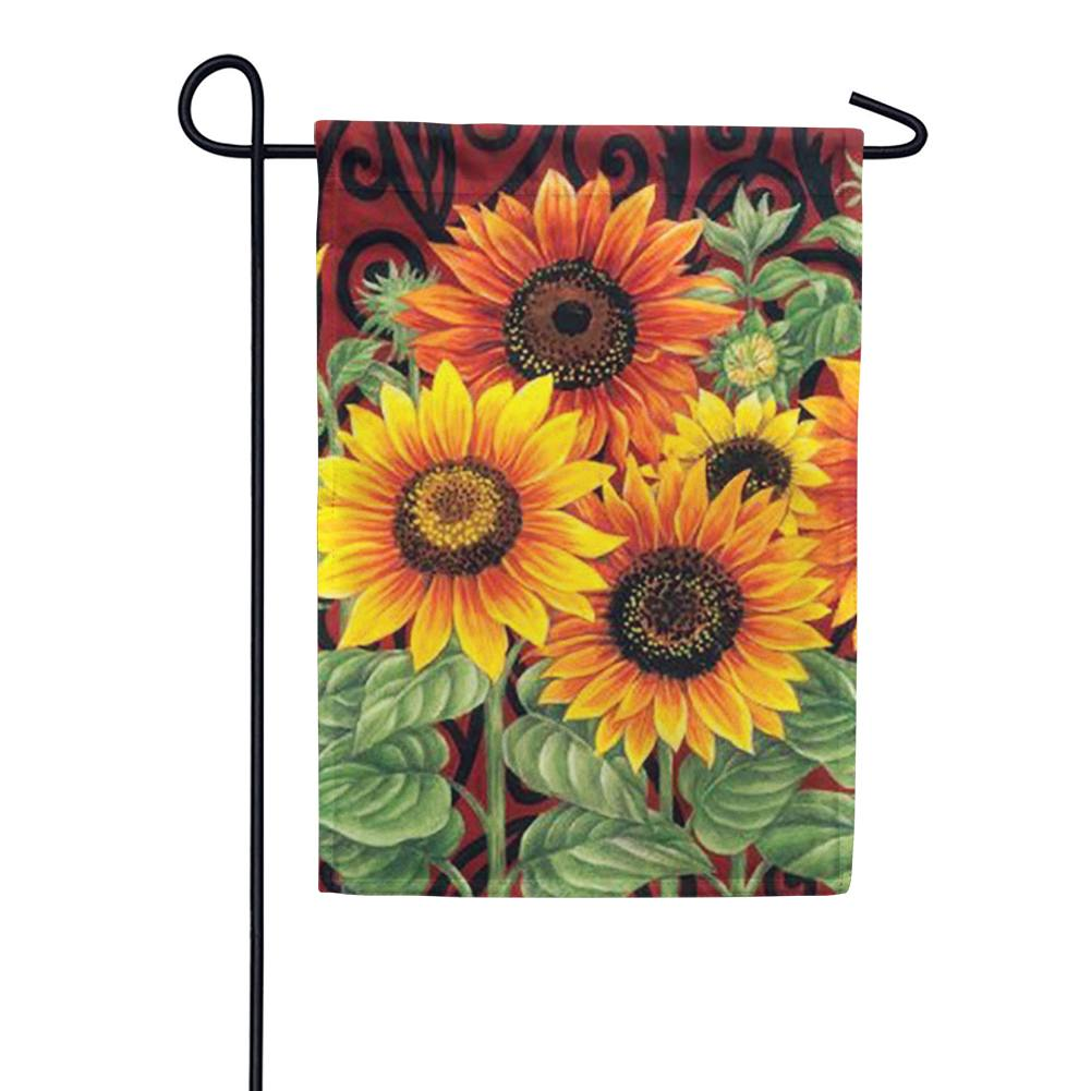Sunflower Medley Garden Flag