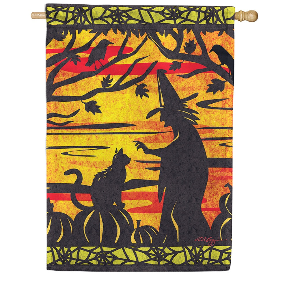Witch's Best Friend House Flag