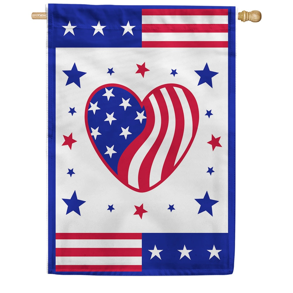 Heart of America House Flag
