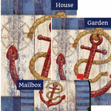 Rustic Anchor And Compass Yard Makeover Set (3 Pieces)